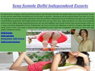 Independent Escorts Girls from New Delhi