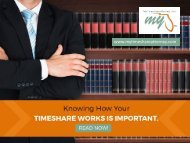 All You Ought to Know about Timeshare