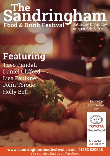 Sandringham Food and Drink Festival Magazine
