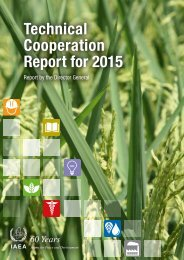 Technical Cooperation Report for 2015