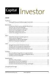 CAPITAL Investor Nr. 41/2011