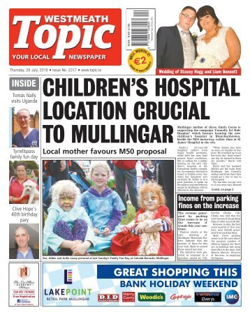 Westmeath Topic - 28 July 2016
