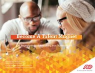 Become A Talent Magnet