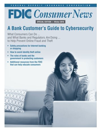 A Bank Customer's Guide to Cybersecurity