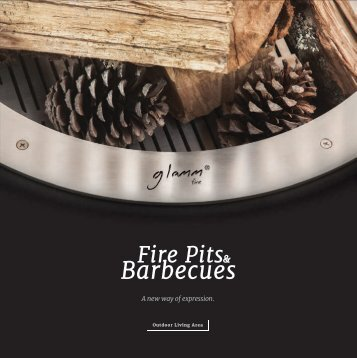 Glammfire fire pits barbecues