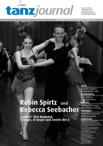 """Robin Spirtz und Rebecca Seebacher """"rocken"""" - DTV"""
