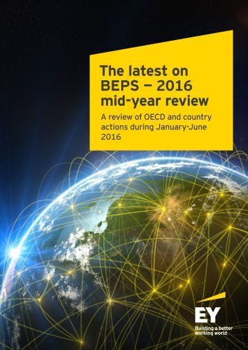 The latest on BEPS — 2016 mid-year review