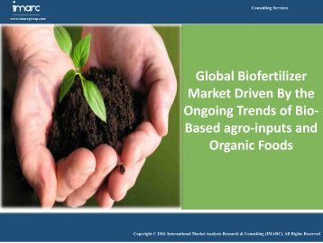 Global Biofertilizer Market Analysis | Size | Research Report
