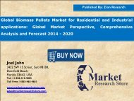 Global-Biomass-Pellets-Market-for-Residential-and-Industrial-applications-Global-Market-Perspective-Comprehensive-Analysis-and-Forecast-2014-2020