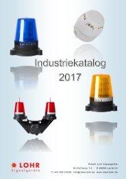 Lohr Signalgeräte Industrie Katalog