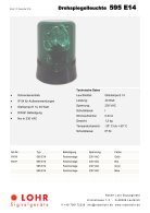 Lohr Signalgeräte Industrie Katalog - Seite 2