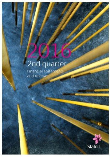 Second quarter 2016