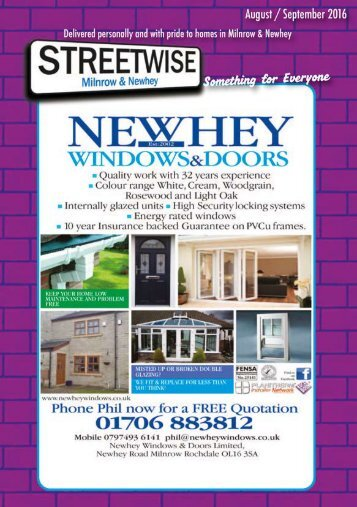 Milnrow & Newhey Aug/Sept 2016