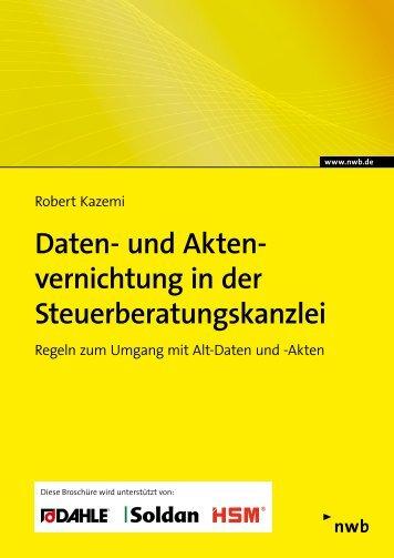 Daten- und Aktenvernichtung in der Steuerberatungskanzlei