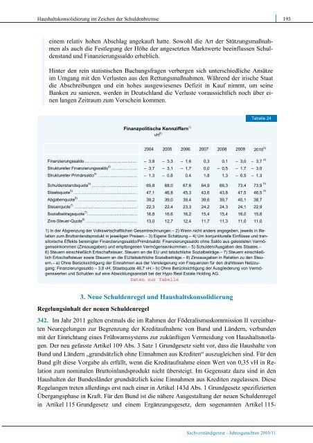 Chancen für einen stabilen Aufschwung - Sachverständigenrat zur ...