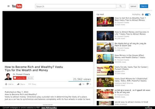 How to Become Rich and Wealthy? Vastu Tips for the Wealth and Money