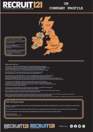 Recruit 121 Infograph