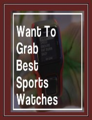 GPS Running Watches For Women: Available In All Categories