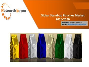 Global Stand-up Pouches Market 2016-2020
