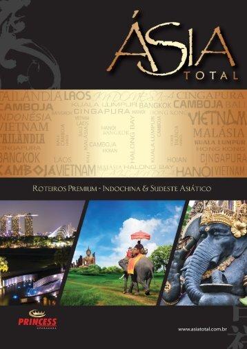 Caderno - Indochina & Sudeste Asiático