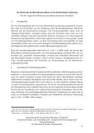 Zur Reichweite des Baurisikoausschlusses - Dr. Hermanns & Partner