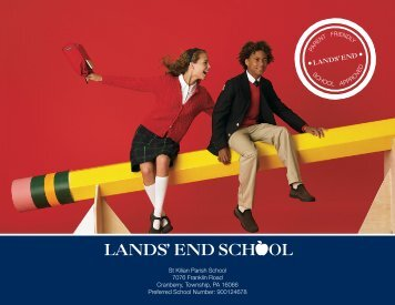 St Kilian Parish School 7076 Franklin Road Cranberry ... - Lands' End