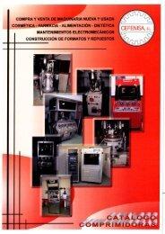 compra y venta de maquinaria nueva y usada ... - Cefenisa SL