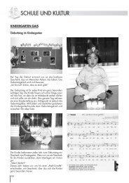 Ausgabe 01/2005 Schule und Kultur