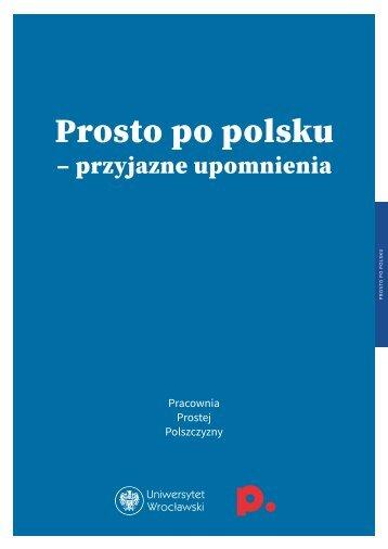 Prosto po polsku