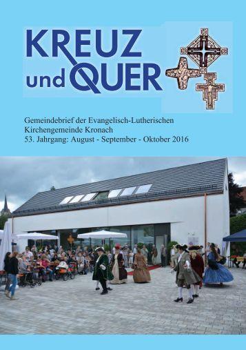 Gemeindebrief August 2016