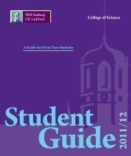 First Year Information Handbook - National University of Ireland ...