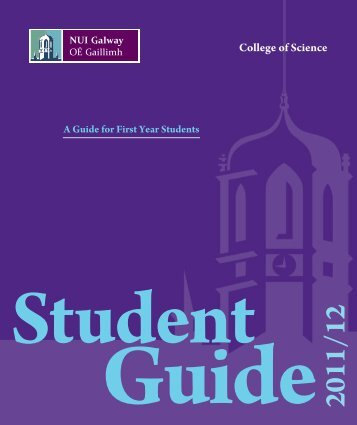 First Year Information Handbook - National University of Ireland ...