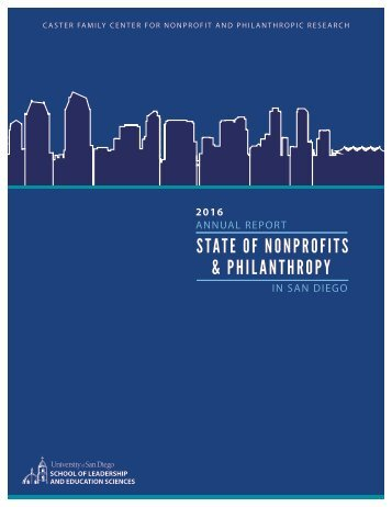 2016 ANNUAL REPORT IN SAN DIEGO