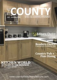 County Life Style Magazine July - August 2016