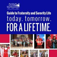 2016 Guide to Fraternity and Sorority Life
