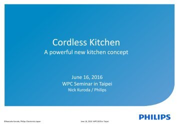Cordless Kitchen