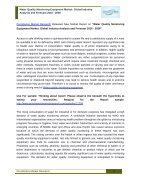 Water Quality Monitoring Equipment Market - Page 2