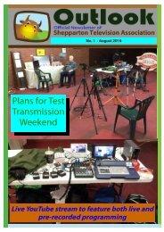 Plans for Test Transmission Weekend