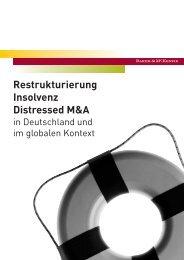 Restrukturierung Insolvenz Distressed M&A - Baker & McKenzie