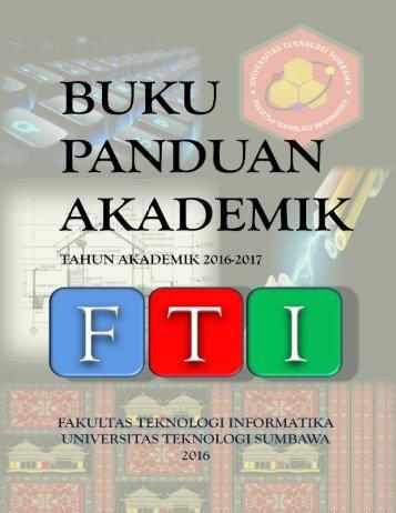 Buku Panduan Akademik FTI-UTS
