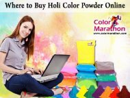 Buy Holi Color Powder Online
