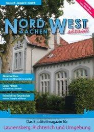 WEB FINAL - Nord West - Ausgabe 72 - Juli 2016