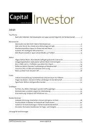 CAPITAL Investor 11/2011