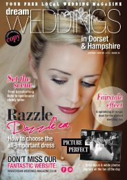 Dream Weddings Magazine - Dorset & Hampshire - issue.34