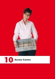 ACO ACCESS COVERS PREISLISTE 2016