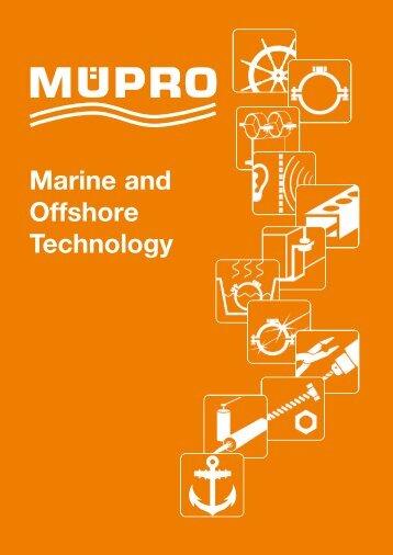 MÜPRO Marine Technology Catalog 2018 EN