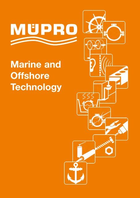 MÜPRO Marine Technology Catalog 2018 EN