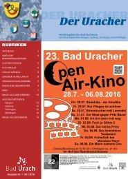 Der Uracher KW 30-2016