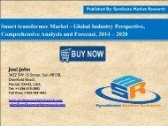 SMR: Global Smart Transformers Market share, Trends and value 2020
