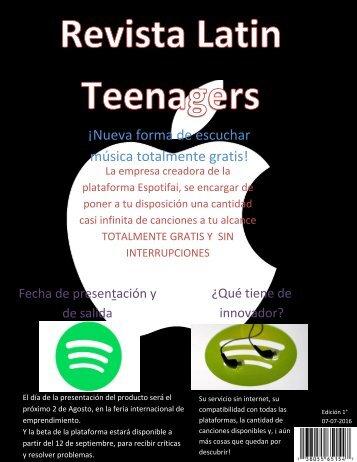 Latin Teenagers portada
